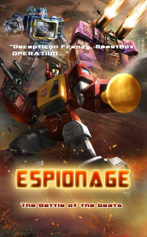 "Transformers News: Transformers: Legends ""Espionage"" - Battle of the Beats"