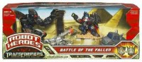 Transformers News: New ROTF Robot Heros Battle Scenes Out in Canada