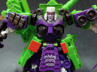 Transformers News: In-hand images of Generations GDO Voyager Megatron
