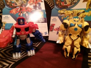 Transformers: Rescue Bots Roar and Rescue Optimus Prime and Bumblebee at US Retail