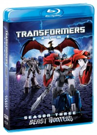 Transformers News: Transformers Prime Season Three Cover Image