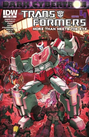 Transformers News: IDW Transformers: More than Meets the Eye #24 (DC 4) Preview
