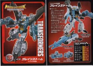 Bios and Comics for Takara Tomy Transformers Legends Soundwave, Ravage, Laserbeak, Brainstorm