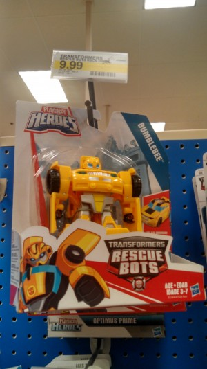 Transformers: Rescue Bots Rescan Bumblebee found at a Target
