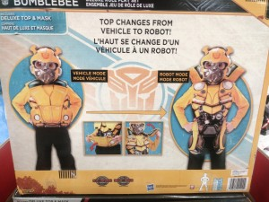 New Role Play Items for Bumblebee and Optimus Featuring Converting Costumes
