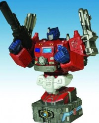 New Diamond Select Bust: Powermaster Optimus Prime