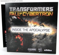 "Transformers News: Gallery of booklet included with Activision's Transformers: Fall of Cybertron ""Survival Kit"""
