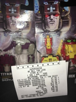 Transformers News: Transformers Titans Return Repugnus and Shuffler Finally Found at Wide Retail in Canada