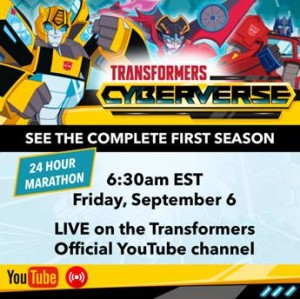 Transformers Cyberverse Marathon Happening Now in Anticipation for Premiere