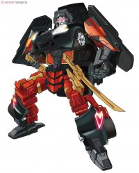Transformers News: Black Alternity Megatron artwork
