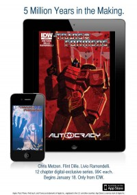 Transformers News: IDW Publishing Launches First-Ever Digital-Only TRANSFORMERS Comic Series, AUTOCRACY