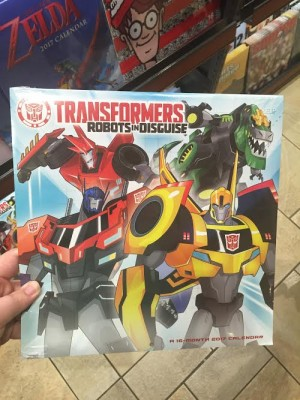 Transformers News: New Transformers Robots in Disguise 2017 Calendar Found