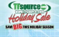 Transformers News: TFsource - Holiday Sale & Black Friday Special Live!