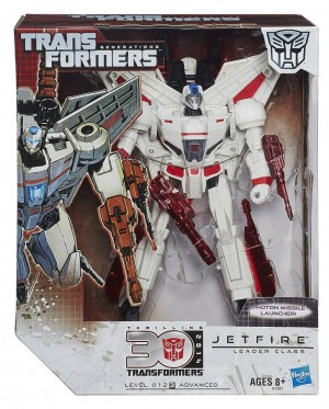 Transformers News: Official In-Package Images Transformers Generations Thrilling 30 Leader Jetfire