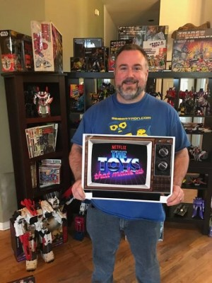 Transformers News: Seibertron.com's Ryan Yzquierdo to Feature on Netflix's The Toys That Made Us Series #TTTMU #Transformers