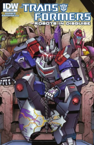 Transformers News: IDW Transformers: Robots in Disguise #34 Full Preview