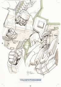 Transformers News: Transformers IDW Collection Vol. 1 Releases This Week - EJ Su Sketch Preview and Tier Details