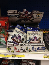 Transformers News: Kre-O Wave 2 Micro Changers Found at Target