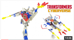 Video Reviews for Cyberverse Deluxe Prowl, Soundwave and Starscream