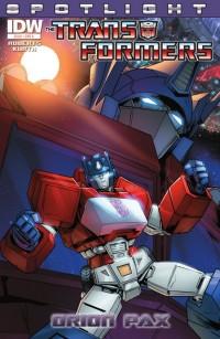 Transformers News: Retrospective Reviews - Transformers Spotlight: Orion Pax