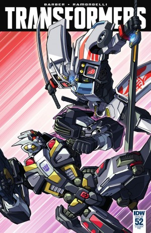 Transformers News: IDW The Transformers #52 Review
