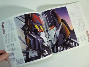 Alex Milne Transformers Sketchbook Reveal