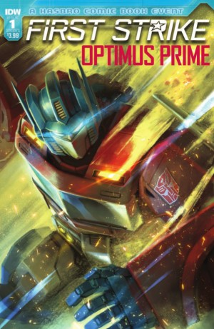 Transformers News: Full Preview of IDW Optimus Prime: First Strike #1 (One-Shot) #HasbroFirstStrike #transformers
