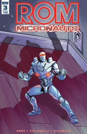 Full Preview for IDW Hasbro Universe Rom & the Micronauts #3