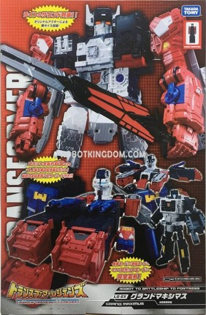 Transformers News: In-Package Images of Takara Tomy Transformers Legends LG-EX Grand Maximus & Greatshot