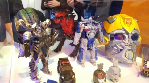 Transformers News: Toy Fair 2017 - Sneak Peek at Megatron Voice Changer Helmet and Dragon Toy #TFNY #HasbroToyFair