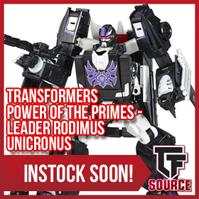 Transformers News: TFSource News! PotP Unicronus, X2 Big Computer, ZT Racket, DX9 Gabriel, Weijiang Omega Guard & More!