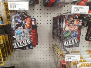 Transformers News: Siege Wave 2 Battle Masters found in the US