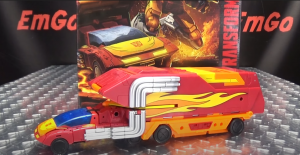 Another video review of Kingdom Commander Class Rodimus Prime