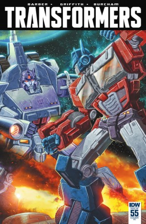 Transformers News: IDW The Transformers #55 Review