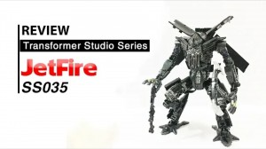 Video Review of Transformers Studio Series #35 Leader Class Revenge of the Fallen Jetfire