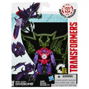 Transformers News: New Robots in Disguise Minicons images including in package images
