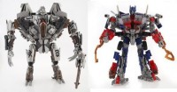 Leader Starscream and Battle Hooks Optimus Prime Released in Australia