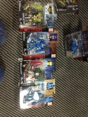Transformers Titans Return Wave 1 Deluxes Available at American Retail Updated with Toysrus Sighting
