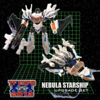 Transformers News: TFExpo 2013 Nebula Starship Exclusive Revealed