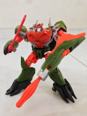 Transformers News: Video Reviews: Transformers Prime Beast Hunters Cyberverse Unicron Megatron and Bludgeon