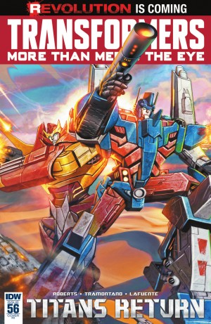 Transformers News: IDW Transformers: More Than Meets The Eye #56 Review