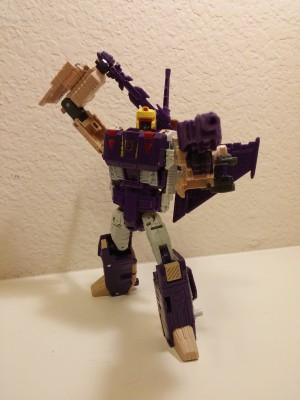 Transformers Titans Return Blitzwing Pictorial Review