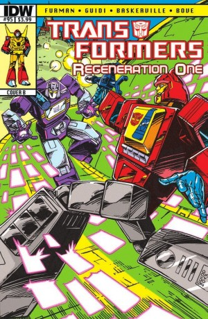 Transformers News: Script (W)Rap – Transformers ReGeneration One #95