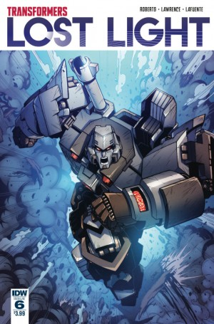 Transformers News: Main Cover for IDW Transformers: Lost Light #6 by Jack Lawrence