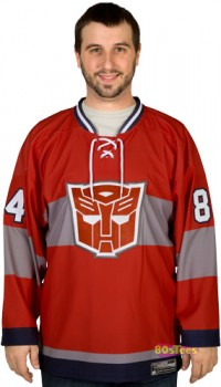 Transformers News: Optimus Prime Hockey Jersey Available For Preorder