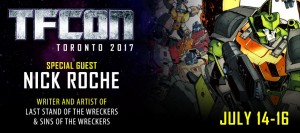 IDW Artist Nick Roche to Attend TFcon Toronto 2017