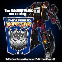 Transformers News: BotCon 2013 Registration Update: Delayed to Mid Next Week