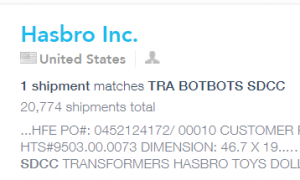 Possible San Diego Comic-Con BotBots revealed in Hasbro shipment