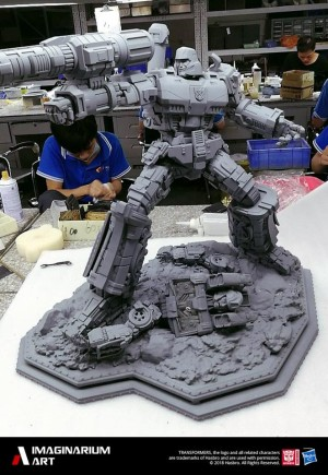 WIP Images of Imaginarium Art Transformers Megatron Statue