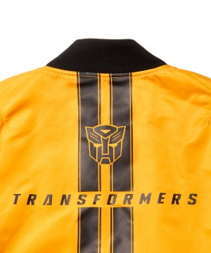 More Images of Alpha MA-1 Transformers Bumblebee Reversible Jacket
